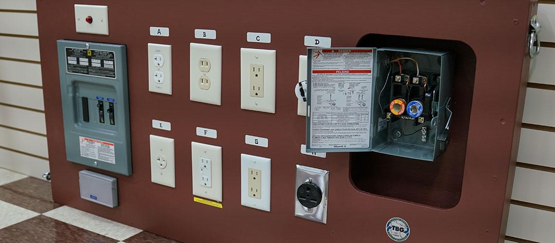 TBG OSHA safety training room