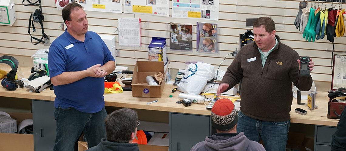 TBG OSHA safety training instructors