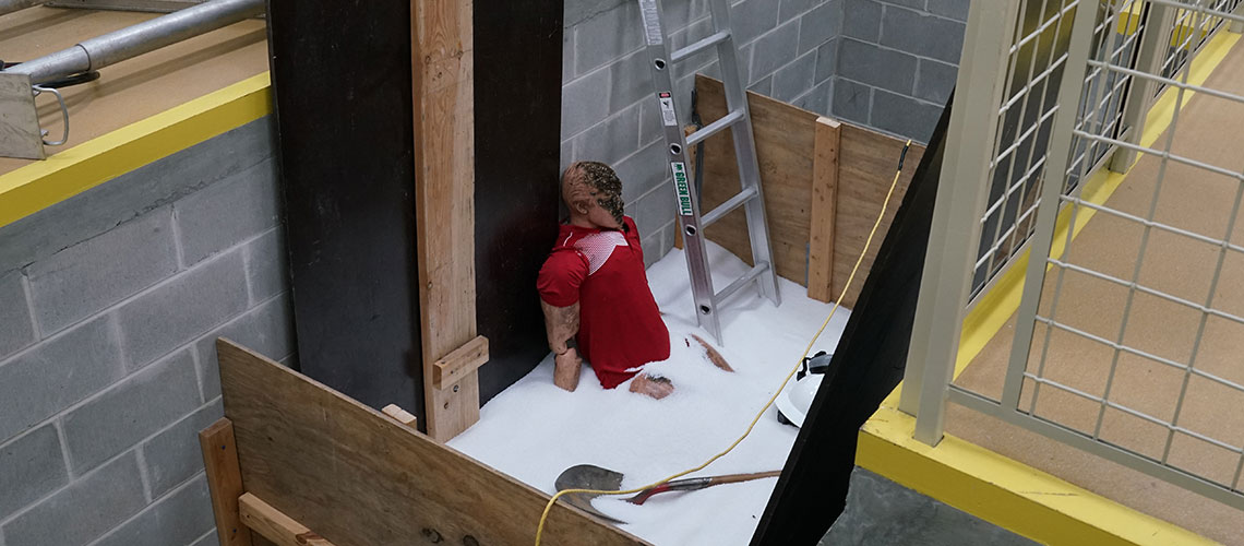 TBG OSHA safety training dummy