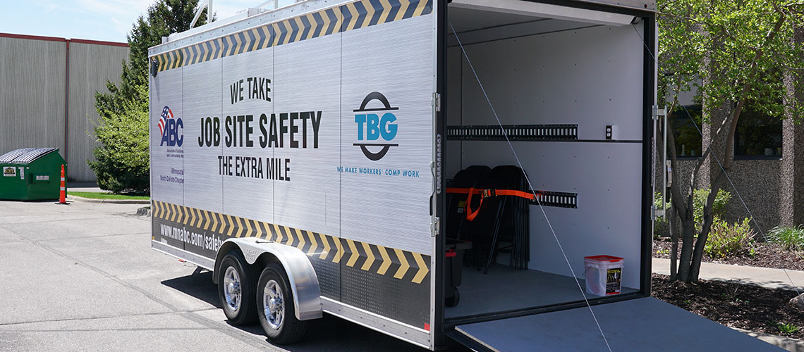 TBG OSHA safety training trailer